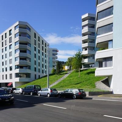 Blick von der Breitensteinstrasse