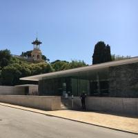 Blick vom Plaça de Carles Buïgas