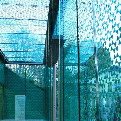 Das neue Foyer des Museumsanbaus