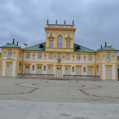Hauptgebäude des Palasts