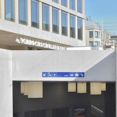 Bahnhof Nord: Eingang