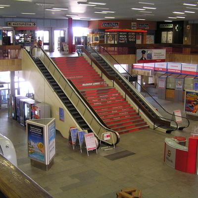 Die Haupthalle mit der grossen Treppe