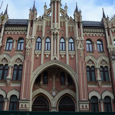 Neugotische Fassade