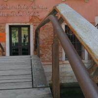Detail Handlauf der Brücke