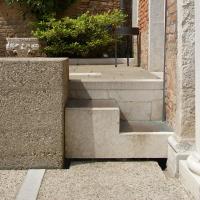 Detail der Treppe