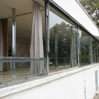 Die berühmten senkbaren Fenster